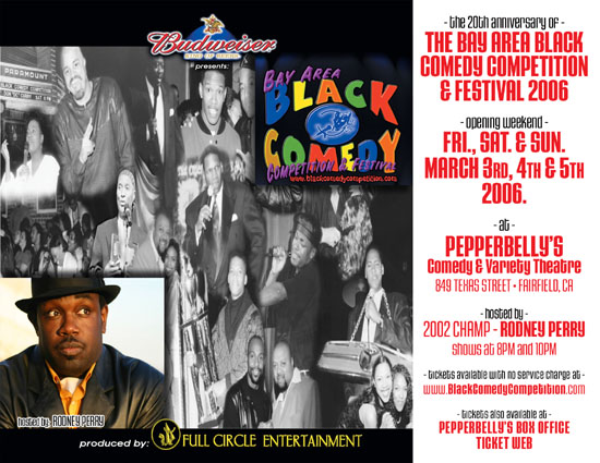 Black Comedy Comp Opening Weekend