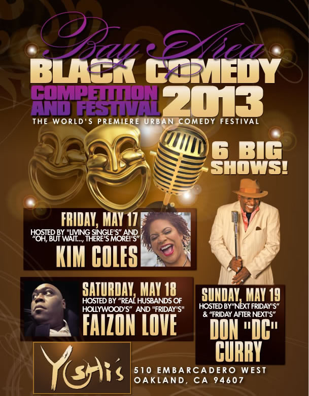 Bay Area Black Comedy Competition & Festival 2013